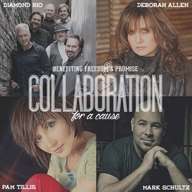 Collaboration For a Cause with: Diamond Rio, Pam Tillis, Deborah Allen, and Mark Shultz Benefiting Freedom's Promise thumbnail