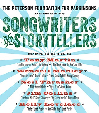 The Peterson Foundation for Parkinsons presents Songwriters and Storytellers thumbnail