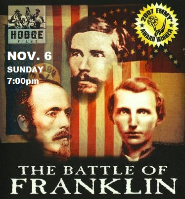 Emmy Award Winning Documentary Movie 'The Battle of Franklin' and Preservation Fundraiser thumbnail